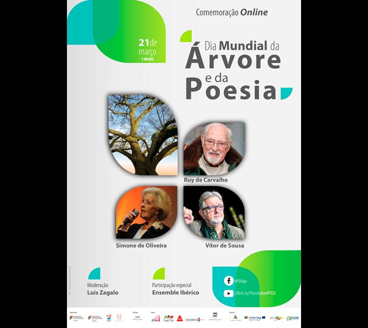 """IPDJ assinala o """"Dia Mundial da Árvore e da Poesia para a Juventude"""" 21 de março  14h00   Online"""