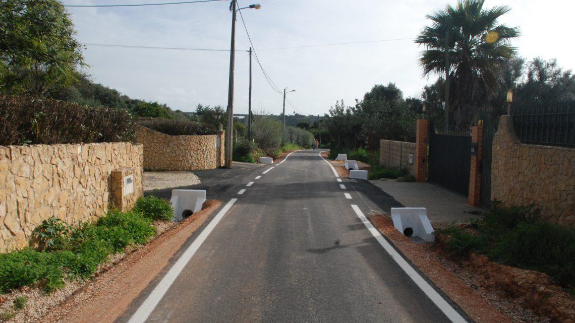 Município de Silves concluiu a pavimentação de caminho em Montes Raposos
