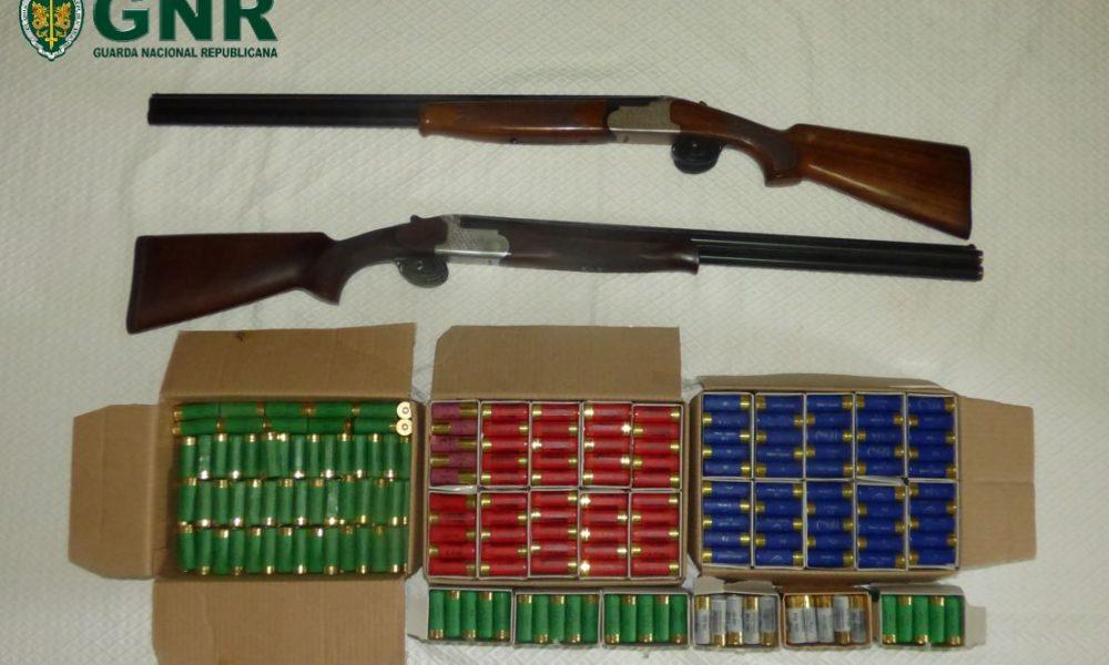 Figueira da Foz: GNR apreendeu armas de fogo em contexto de violência doméstica