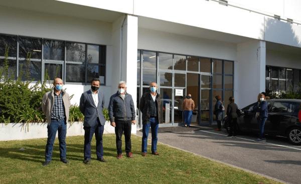 Processo de testagem à COVID-19 arranca no concelho de Vagos