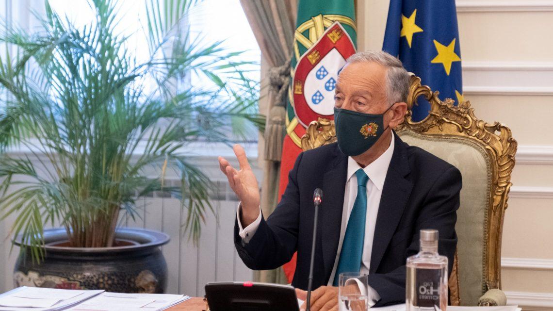 Presidente da República decreta renovação do estado de emergência até 15 de abril