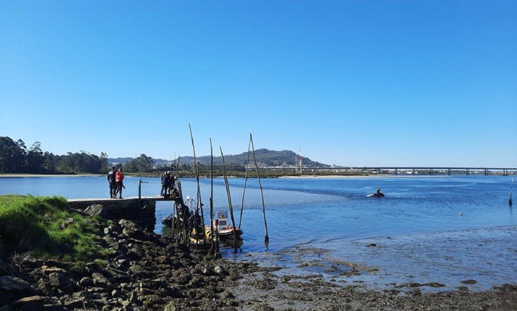 Cinco mergulhadores procuram mulher desparecida no rio Lima em Viana do Castelo