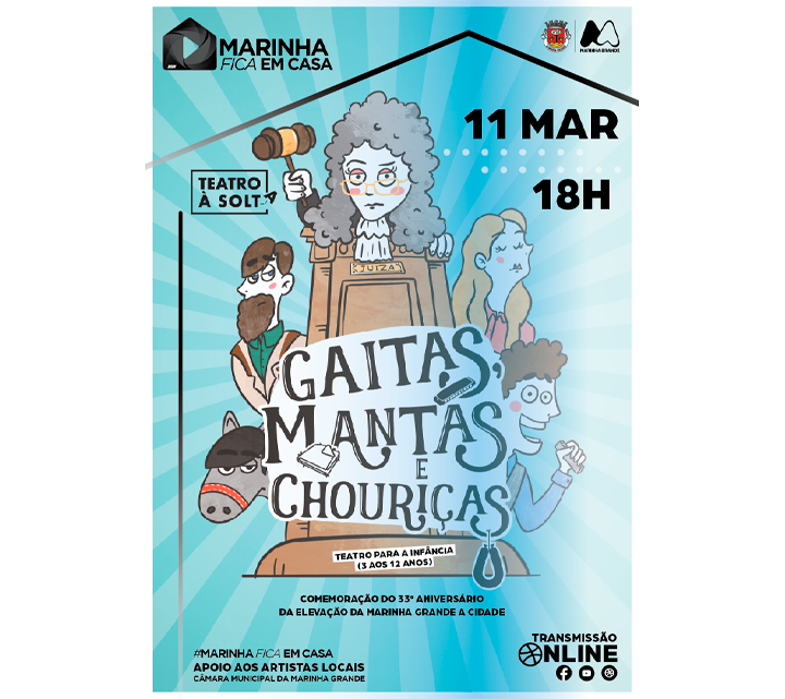 Marinha Grande | Câmara Municipal difunde espetáculos online em março