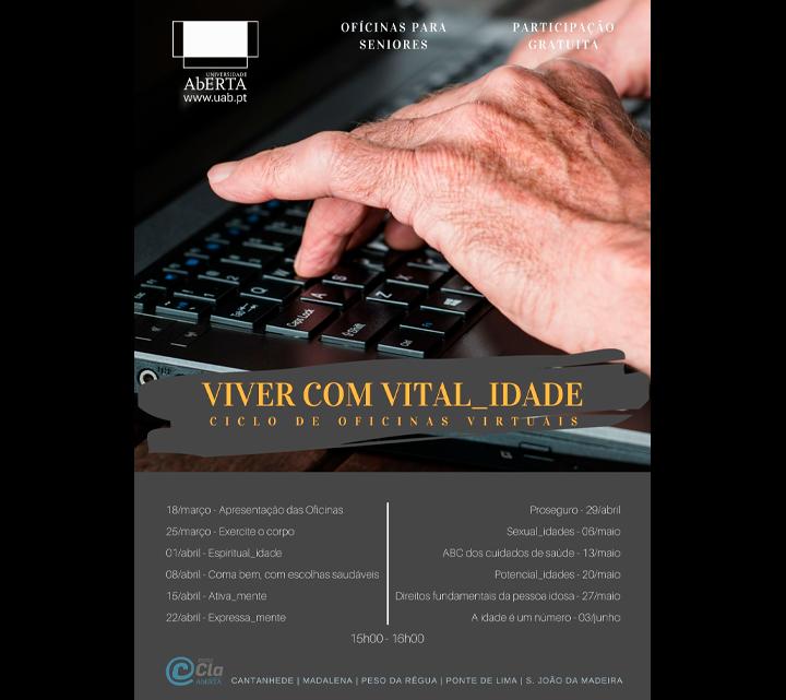 Ciclo de oficinas virtuais VIVER com VITAL_IDADE