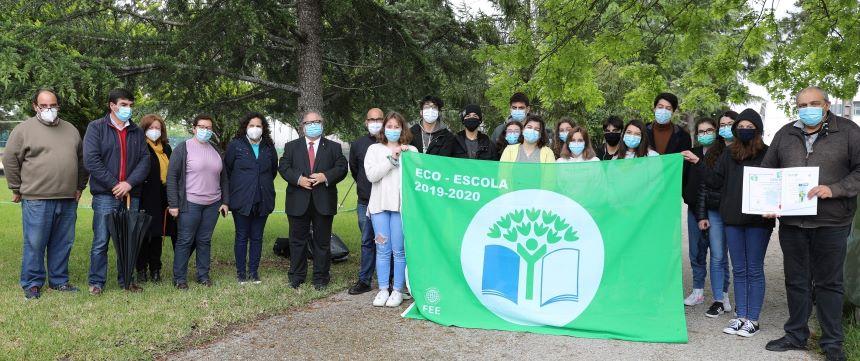 Eco-Escolas de Cantanhede hastearam a Bandeira Verde