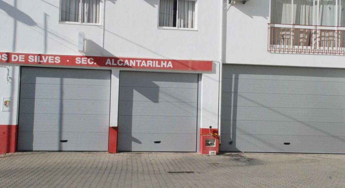 Município de Silves assegurou a substituição dos portões da secção de Alcantarilha dos Bombeiros Voluntários de Silves