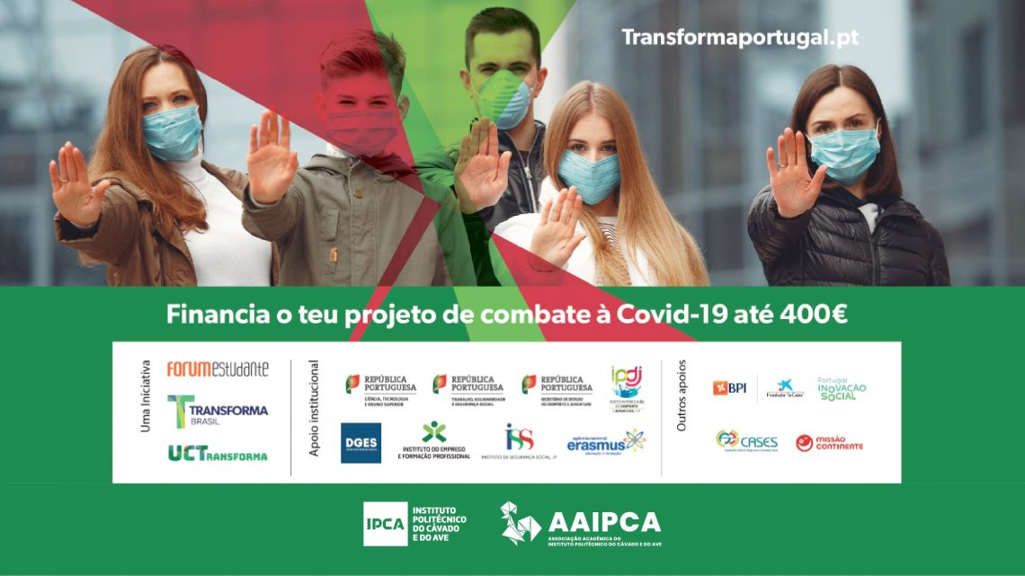 Barcelos | Transforma Portugal financia projetos de voluntariado de estudantes do IPCA