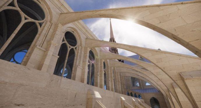 México   La Restauración De La Catedral De Notre Dame En Paris Adopta La Tecnología Digital Y El Modelado De Información Para La Construcción