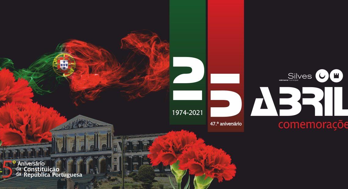 Silves assinala 25 de Abril e aniversário da constituição portuguesa com programação cultural online