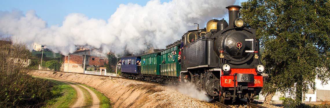 Águeda | Comboio histórico do Vouga realiza viagens nos dias 24 e 25 de abril