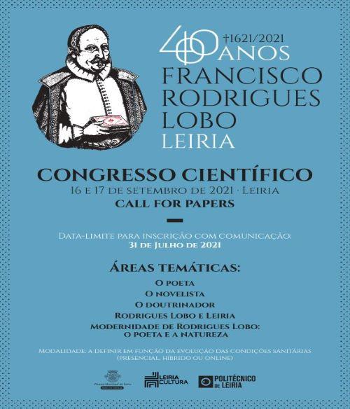 Leiria | Congresso Científico Internacional dedicado a Francisco Rodrigues Lobo