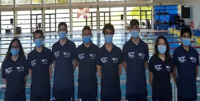 Nadadores da Sociedade Columbófila participaram no torneio de preparação da Associação de Natação do Centro norte de Portugal