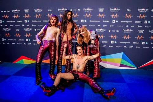 Vencedor da Eurovisão submetido a despistagem de drogas