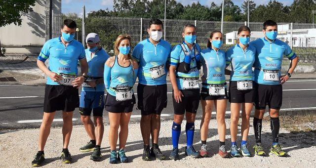 Atletas da Secção ar livre e aventura de regresso à competição nos Trilhos de S. Tomé