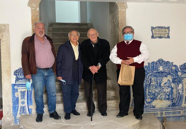 Cantanhede   Professor Doutor Linhares Furtado visita futuro Museu de Arte e Colecionismo