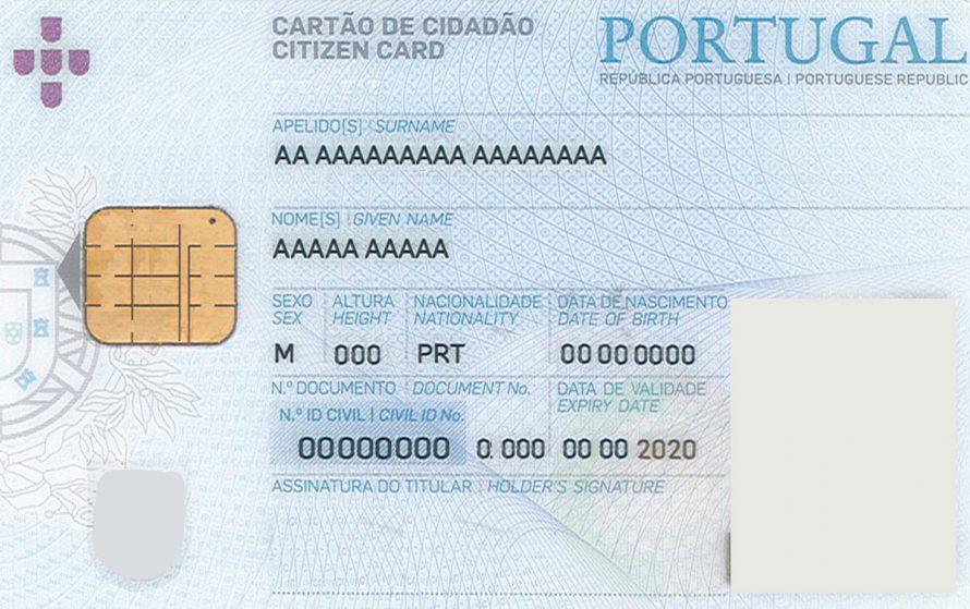 PORTUGAL   Renovação automática do cartão de cidadão a partir de hoje para maiores de 25 anos