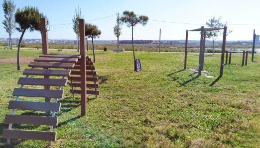 Circuito de manutenção do Parque Urbano nascente de Armação de Pêra recebeu novos equipamentos