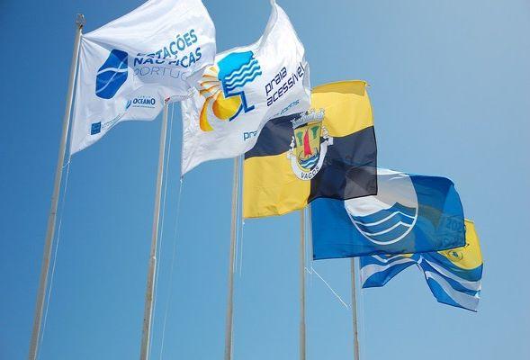 Praias da Vagueira e do Areão contempladas com Bandeira Azul