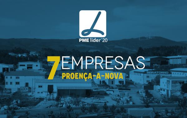 Proença-a-Nova | Sete empresas distinguidas com o galardão PME Líder no concelho