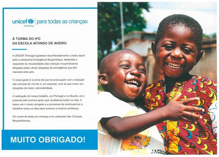 Solidariedade: Angariação de fundos para as crianças de Moçambique