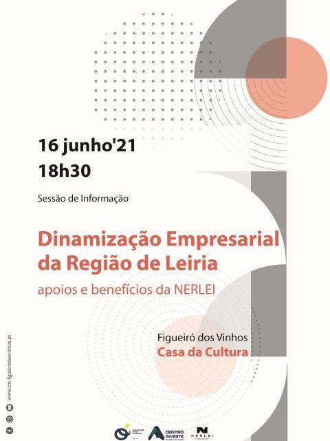 """Figueiró dos Vinhos   Sessão de Informação: """"Dinamização Empresarial da Região de Leiria – apoios e benefícios do NERLEI"""""""