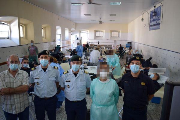 Mais de uma centena doaram sangue no Centro de Formação de Portalegre da GNR