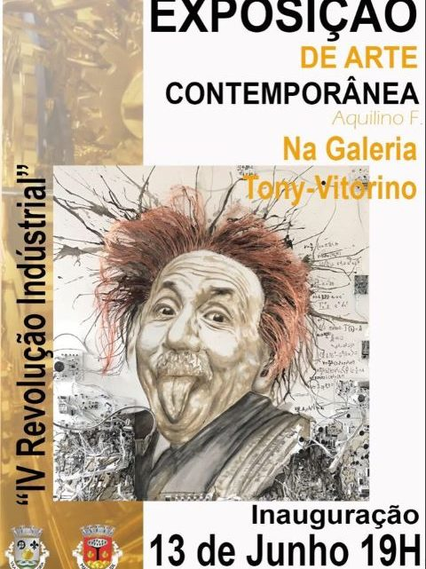 Marinha Grande | Exposição de Pintura de Aquilino Ferreira na Galeria Tony Vitorino