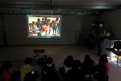 Columbófila apresentou projecto de cooperação de partida que desenvolve em Cabo Verde aos Lobitos do Agrupamento de Escuteiros 382 de Cantanhede