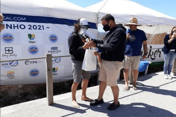 """Miguel Rocha e Tiago mesquita vencem """"em casa"""" segunda etapa do campeonato nacional de Body Surf"""
