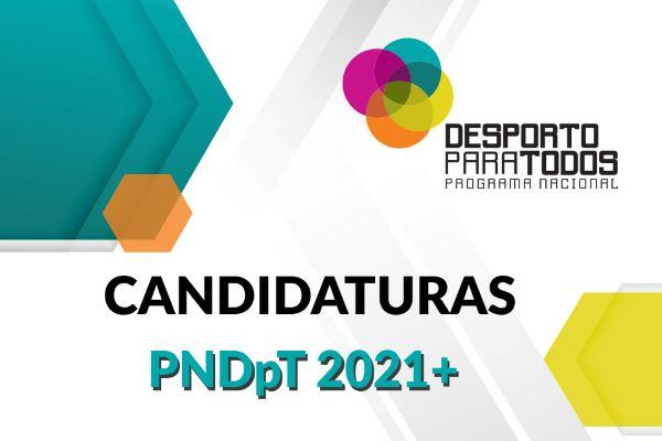 Programa Nacional de Desporto para Todos 2021+ até 11 de junho