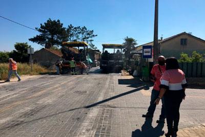 Cantanhede | Requalificação da EM 583, entre Sanguinheira e Tocha, está praticamente concluída