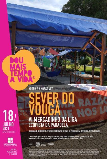 """Sever do Vouga recebe nova edição do """"Mercadinho da Liga"""""""