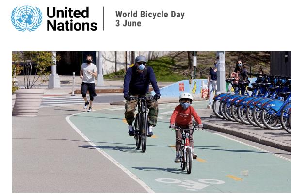 Dia Mundial da Bicicleta dia 3 de junho