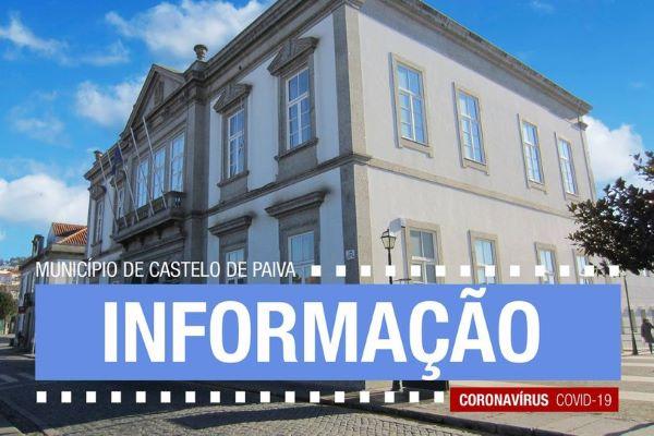 Castelo de Paiva | Consequências da pandemia covid – 19: Câmara Municipal assegura renovação de medidas de apoio