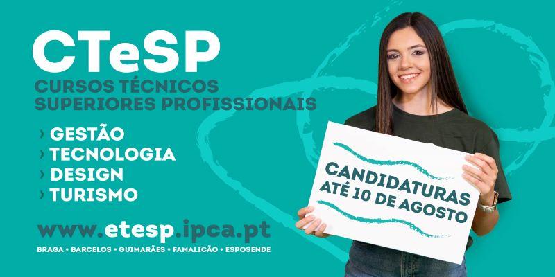 Barcelos | IPCA abre candidaturas para mais de trinta Cursos Técnicos Superiores Profissionais