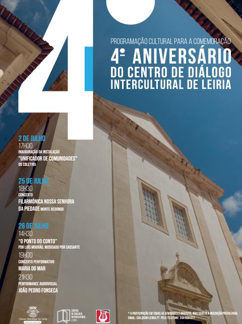 Centro de Diálogo Intercultural de Leiria comemora 4.º aniversário