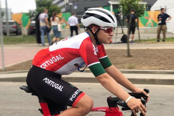Ciclista Maria Martins medalha de ouro em omnium na Taça das Nações de pista