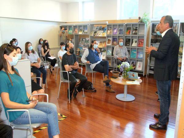 Castelo de Paiva | André Maria Moreira foi o vencedor: Biblioteca Municipal recebeu ontem encerramento do concurso de poesia popular
