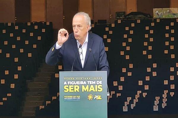 """Santana Lopes quer três mandatos para uma Figueira da Foz """"liderante"""""""
