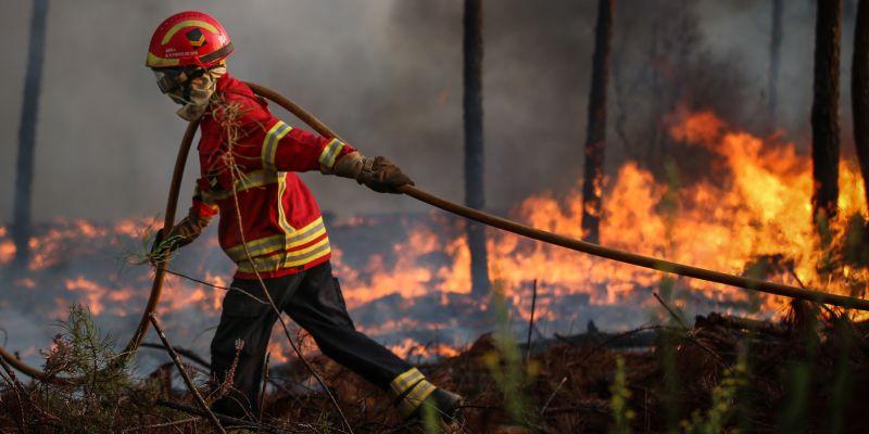 Incêndios: Trinta e seis concelhos de seis distritos em risco máximo