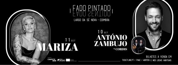 Mariza, António Zambujo e Cordis atuam em Coimbra a 10 e 11 de Setembro