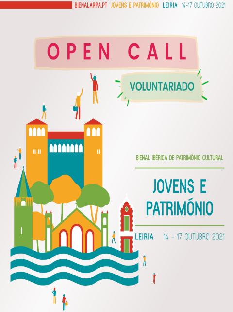 Leiria | Inscrições para voluntariado jovem na Bienal Ibérica de Património Cultural