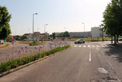 Aveiro   Começou a construção da nova rotunda a nascente do túnel de Esgueira