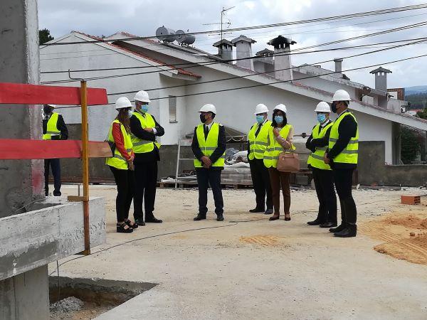 Secretário de Estado visitou obras do Quartel da GNR de Anadia