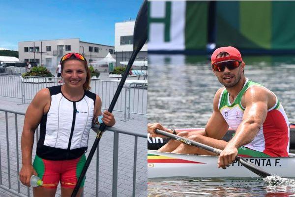 Fernando Pimenta e Teresa Portela apurados para as meias-finais na canoagem