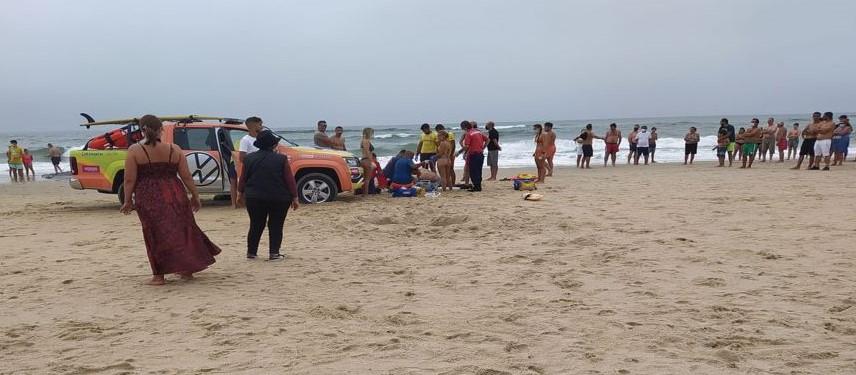 Homem de 59 anos morre afogado na Praia da Vieira na Marinha Grande