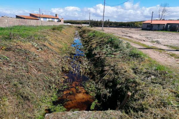Desobstrução das linhas de água urbanas do concelho da Marinha Grande