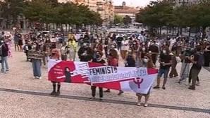Mais de uma centena manifesta-se no Porto em solidariedade com as mulheres afegãs