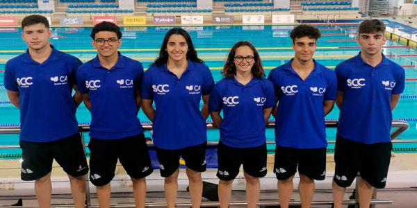 Cantanhede   Nadadores Diana Tinoco e Guilherme Cardoso da Sociedade Columbófila conquistam Prata e Bronze no Open de Portugal