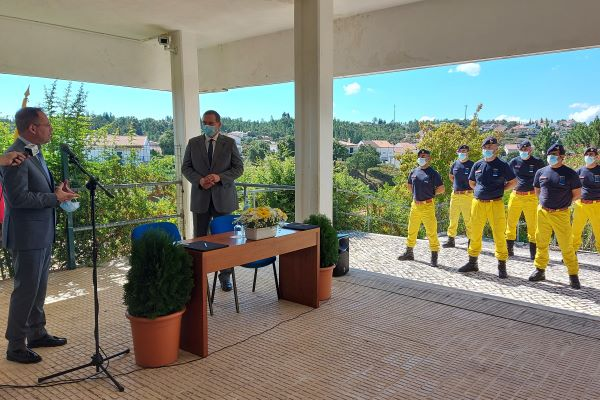 Proença-a-Nova | Antigo Instituto de Santiago acolhe Base Permanente da Força Especial de Proteção Civil